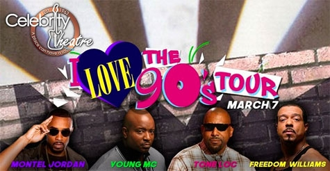 50% Off Tickets to I Love the 90's Tour!