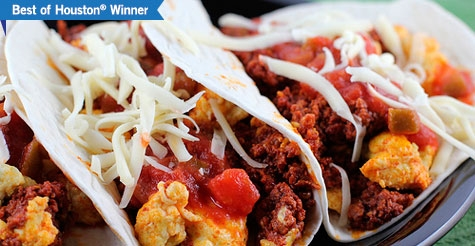 $10 for 10 Tacos worth up to $25 at Tacos A Go Go