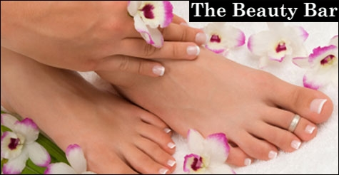 $20 for a relaxing Manicure & Pedicure plus a glass of wine at The Beauty Bar