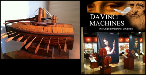 $14 for admission for two to DaVinci Machines Exhibition