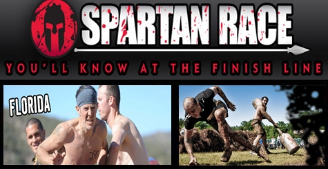 $45 for early registration to the 2013 Super Spartan Race in North Miami Beach