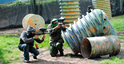 $40 for 4 people unlimited private play at Urban Warzone Paintball