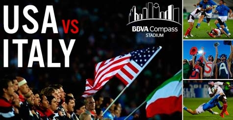 $25 for 2 tickets to USA Rugby vs. Italy at BBVA Compass Stadium