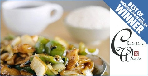 $15 for $30 worth of food & drink at Christina Wan's