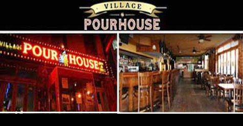 $17 trivia night, open bar and wings at Village Pourhouse