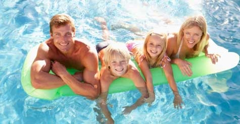 $140 for one month of salt water pool services