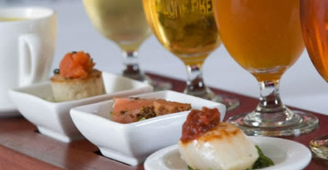 $25 for a 5-course dinner with beer pairings