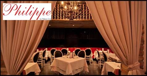 $50 for $100 worth of food and drinks at Philippe Chow