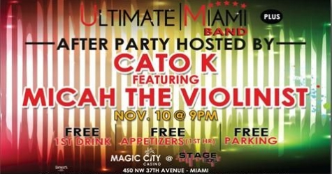 $20 for one ticket to Ultimate Miami Band