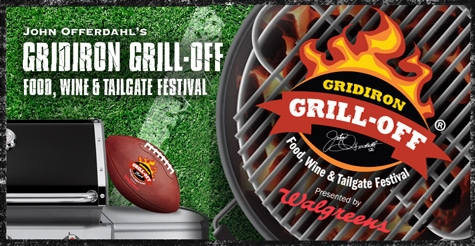 $37 for One GA Ticket to John Offerdahl's Gridiron Grill-Off Food, Wine & Tailgate Festival