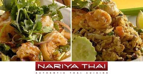 $15 for $30 of food and drink at Nariya Thai