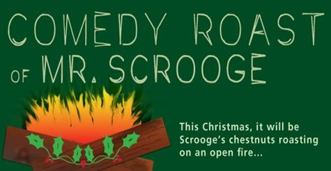 $9 for one ticket to The Comedy Roast of Mr. Scrooge at Camp Bar