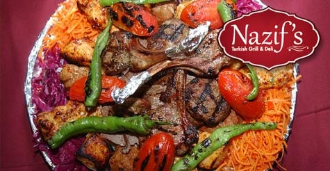 $13 for authentic Turkish fare at Nazif's Turkish Grill & Deli