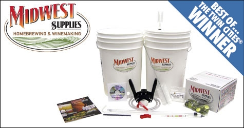 $62 for a Brewer's Starter Kit at Midwest Supplies