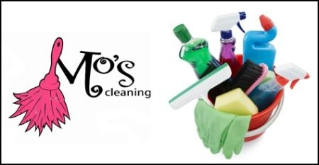 $50 for 3 hours of cleaning from Mo's Cleaning