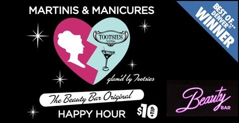 $10 for 2 manicures and 2 martinis at 'Best Of' winner Beauty Bar