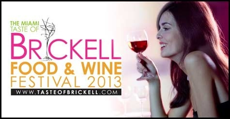 $25 for One Admission to 3rd Annual Taste of Brickell Food and Wine Kick-Off Pre-Party at Mary Brickell Village