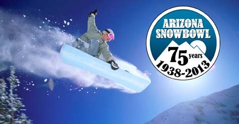 $39 for one-day lift ticket to Arizona Snowbowl (valid any day)