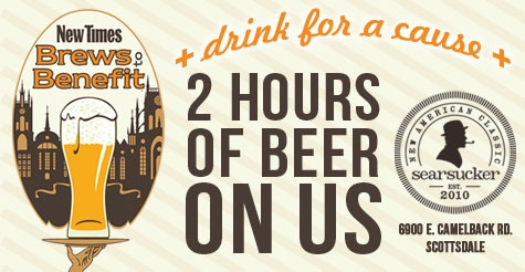 $5 for Two Hours of Beer at New Times' Brews To Benefit