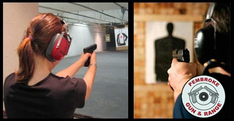 $36 for a Package for Two at Pembroke Gun & Range