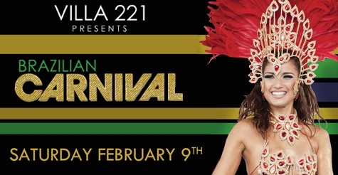 $10 for Admission to Brazilian Carnival at Villa 221