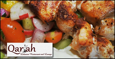 $10 for $20 of food & drink at Qariah Lebanese Grill & Hookah