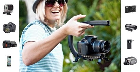 $19 for the Cam Caddie Universal Stabilizing Camera Handle