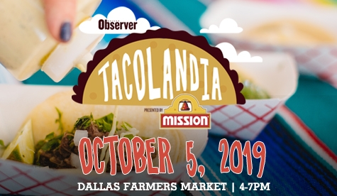$25 for General Admission Ticket to Tacolandia on October 5th