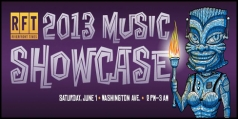 Half off VIP and GA tickets to RFT Music Showcase