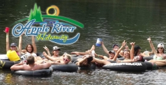 $12 for tubing for 2 down the Apple River