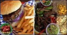 $12 for $24 at Live Oak Bar and Grill