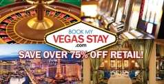 $39 for 2 nights at a Major Hotel & Casino on the Las Vegas Strip and Las Vegas BITE Card